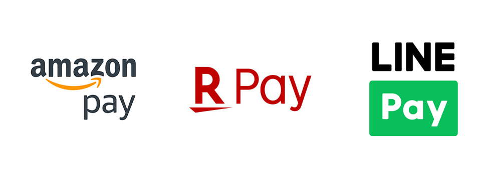 Amazon Pay Rakuten Pay LINE Pay