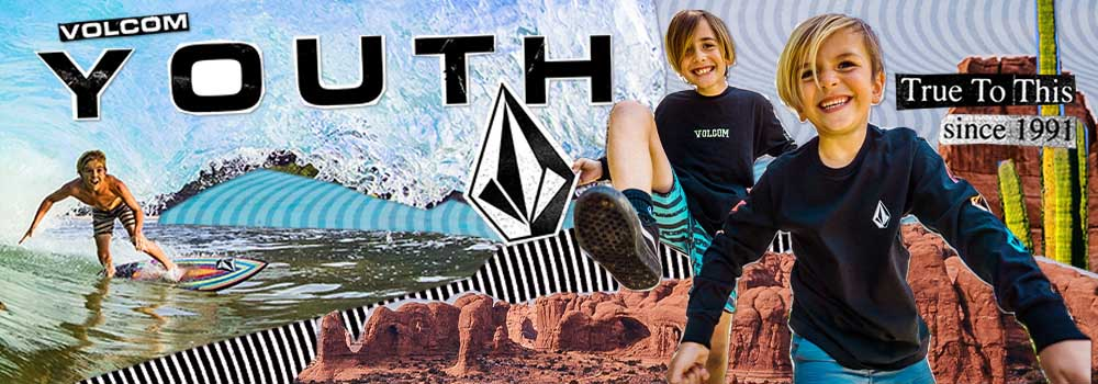 VOLCOM 2020 SPRING SUMMER KIDS COLLECTION